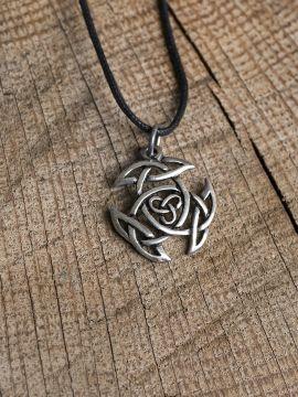 Keltischer Knoten Silber