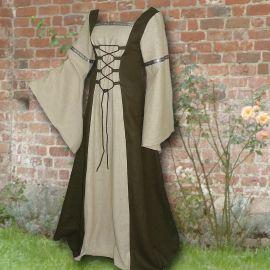 Kleid Elisabeth oliv-sand