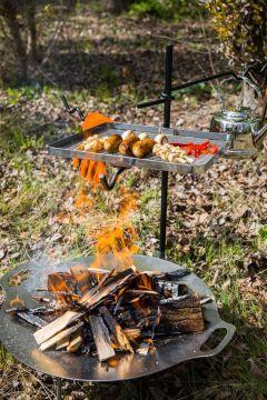 Feueranker für die Kochstelle