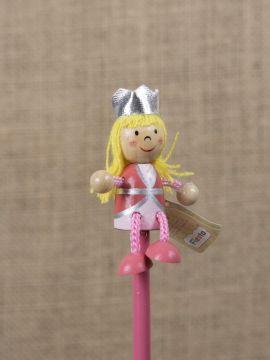 Bleistift mit Figur Prinzessin