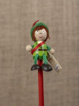 Bleistift mit Figur Robin Hood