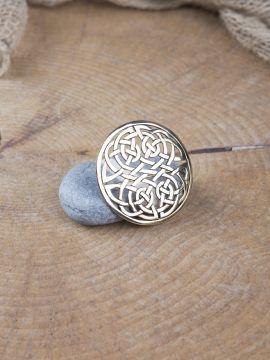 Keltische Rundfibel aus Bronze