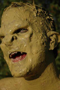 Ork-Warrior Maske - RESTPOSTEN