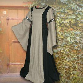 Kleid Frieda schwarz-sand
