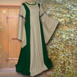 Kleid Frieda waldgrün-sand