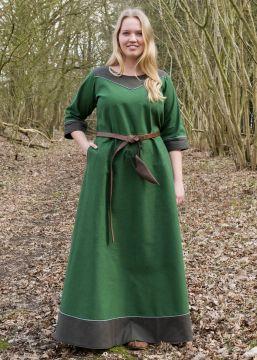 Mittelalterkleid Gesine grün