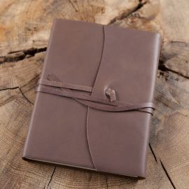 Tagebuch im Einband -braun- Groß 15x21 cm