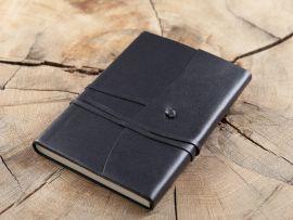 Tagebuch im Einband -schwarz-