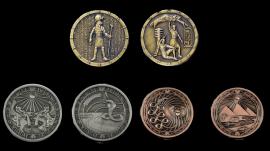 LARP-Münzen Ägypter