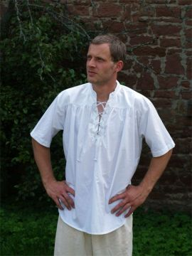Mittelalterhemd Kurzarm