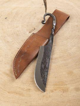Klassisches Mittelaltermesser mit Scheide