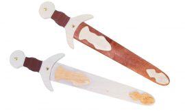 Kurzschwert mit Holzscheide