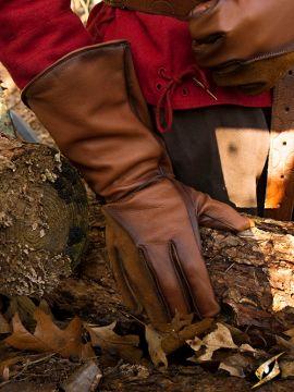 Falknerhandschuhe braun