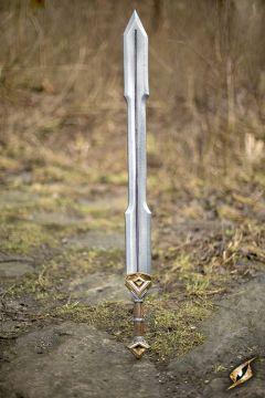 Zweischneidiges Zwergenschwert für LARP 105 cm