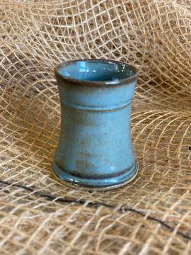 Keramik Schnapsbecher blau