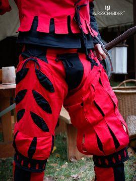 Imperialis Beinling Schnitte rot-schwarz