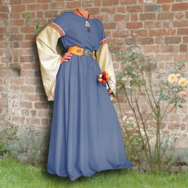 Kleid Johanna hellblau