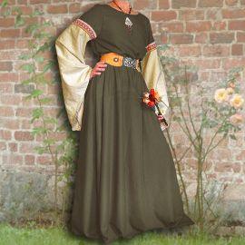 Kleid Johanna oliv