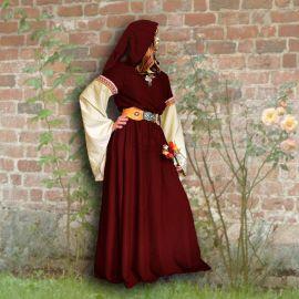 Kleid Johanna weinrot