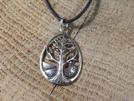 Silberanhänger keltischer Lebensbaum