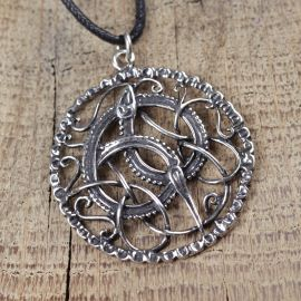 Silberanhänger keltische Schlange