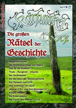 """Karfunkel Codex Nr. 17 - """"Die großen Rätsel der Geschichte"""""""