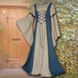 Kleid Katharina hellblau-sand