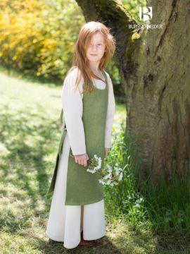 Kinderüberkleid Ylva lindgrün