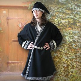 Klappenrock Rollo schwarz