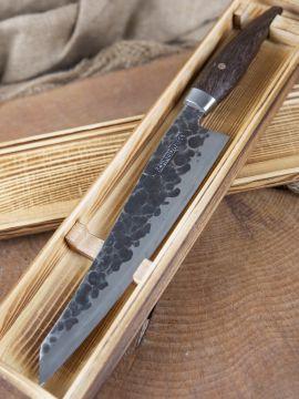 Kochmesser mit Griff aus Wengeholz