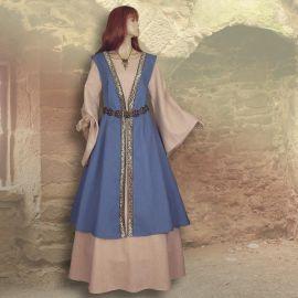 Zweiteiliges Gewand Kriemhild hellblau