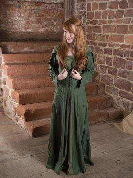 Mittelalterkleid Luna in grün