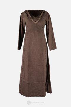 Kleid Lagertha braun