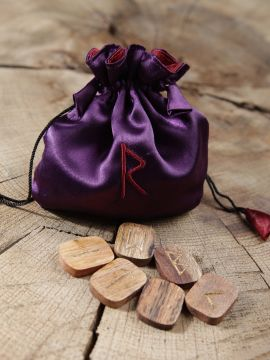 Runen aus Holz - 25 Stück