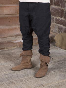 Hose mit Beinschnürung schwarz M