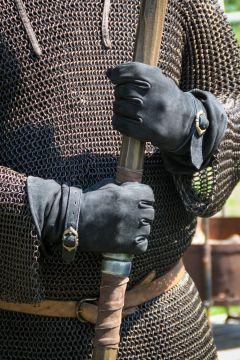 Lederhandschuhe Ulex schwarz