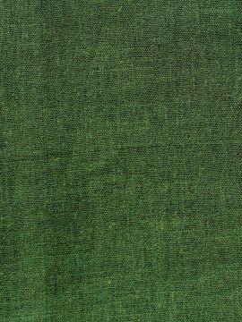Leinenstoff Meterware - dunkelgrün