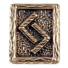 Rune JERA aus Bronze