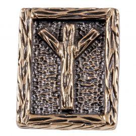 Rune ALGIZ aus Bronze
