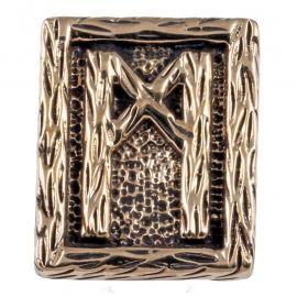 Rune MANNAZ aus Bronze