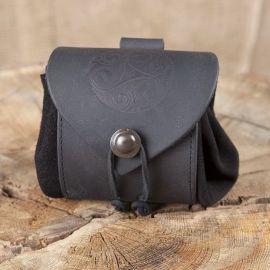 Gürtelbeutel Triskele schwarz