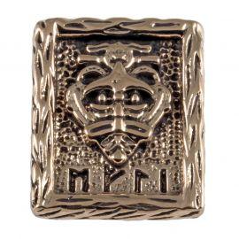 Rune WIKINGERKRIEGER aus Bronze