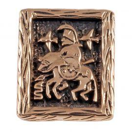 Rune ODIN aus Bronze