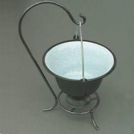 1 Liter-Topf mit Ständer