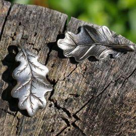 Kettenanhänger Eichenblatt
