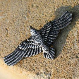 Kettenanhänger Fliegender Rabe