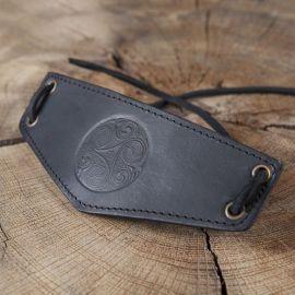 Armband Triskele schwarz