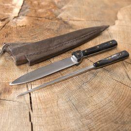 Mittelalterliches Messer mit Essdorn