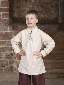 Mittelalterhemd für Kinder natur