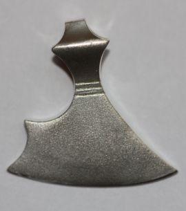 Gotlandaxt Silber